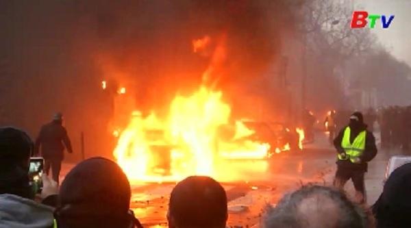 Pháp cảnh báo nguy cơ biểu tình bạo lực ở Paris cuối tuần này