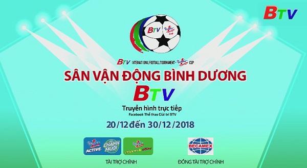 Giải Bóng đá Quốc tế Truyền hình Bình Dương lần thứ XIX Cúp Number 1 năm 2018