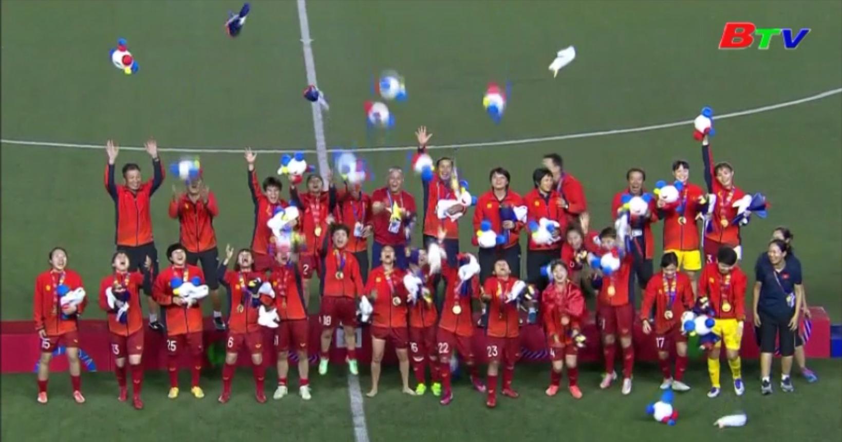 Đội tuyển bóng đá nữ Việt Nam lập kỷ lục mới