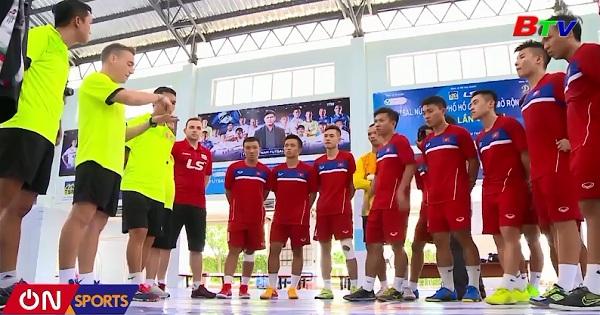 Đội tuyển Futsal Việt Nam chuẩn bị VCK Châu Á 2018