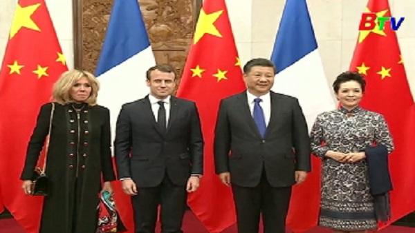 Trung Quốc-Pháp mong muốn thúc đẩy quan hệ song phương