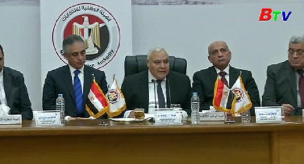 Ai Cập ấn định thời điểm bầu cử Tổng thống năm 2018
