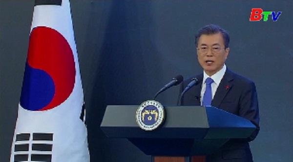 Hàn Quốc khẳng định phi hạt nhân hóa Bán đảo Triều Tiên là con đường dẫn tới hòa bình