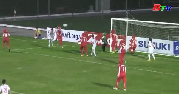Vòng loại Asian Cup 2018 -ĐT nữ Việt Nam 6-1 ĐT nữ Iran