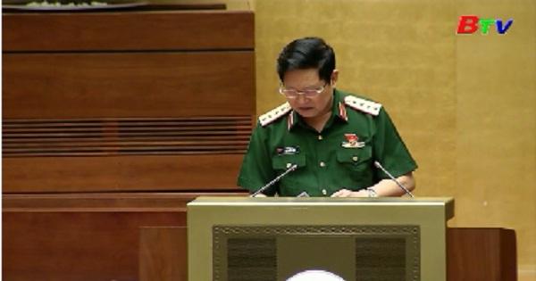 Quốc hội biểu quyết thông qua 2 Nghị quyết, cho ý kiến 2 Dự án luật
