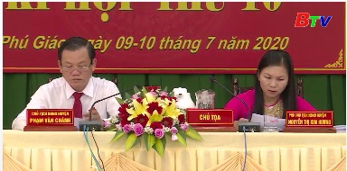 Phú Giáo khai mạc kỳ họp Hội đồng Nhân dân thứ X