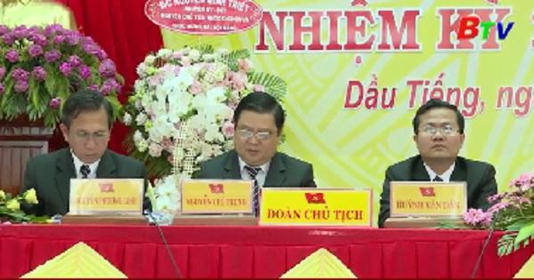 Khai mạc Đại hội Đại biểu Đảng bộ huyện Dầu Tiếng lần thứ V, nhiệm kỳ 2020-2025