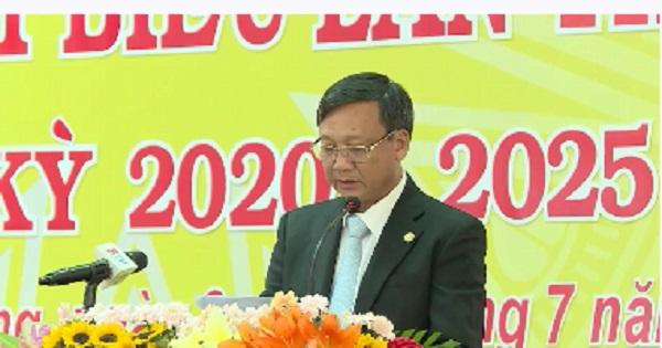 Đại hội Đại biểu Đảng bộ huyện Dầu Tiếng lần V, nhiệm kỳ 2020-2025