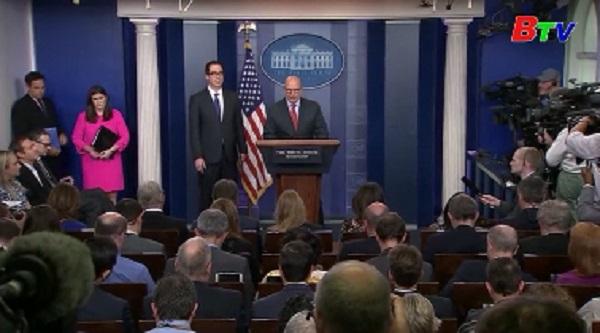 Mỹ mở rộng trừng phạt Venezuela