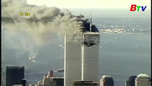 Nước Mỹ tưởng nhớ các nạn nhân vụ khủng bố ngày 11-9