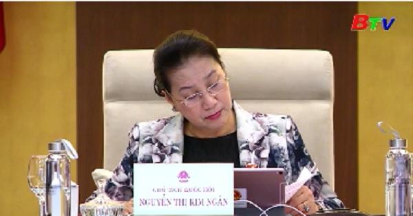 Ủy ban Thường vụ Quốc hội cho ý kiến vế dự án luật thanh niên