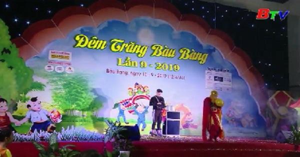 Nô nức lễ hội trung thu Bàu Bàng
