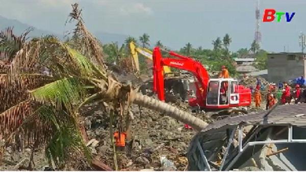 Động đất, sóng thần tại Indonesia - Số người thương vong vẫn tăng cao