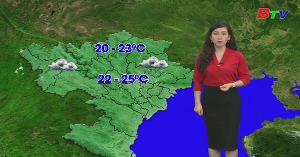 Bản tin Thời tiết (Ngày 10/10/2019)