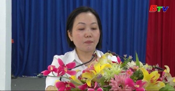 Hội nghị Ban Chấp hành đảng bộ Thành phố Thủ Dầu Một lần thứ 33