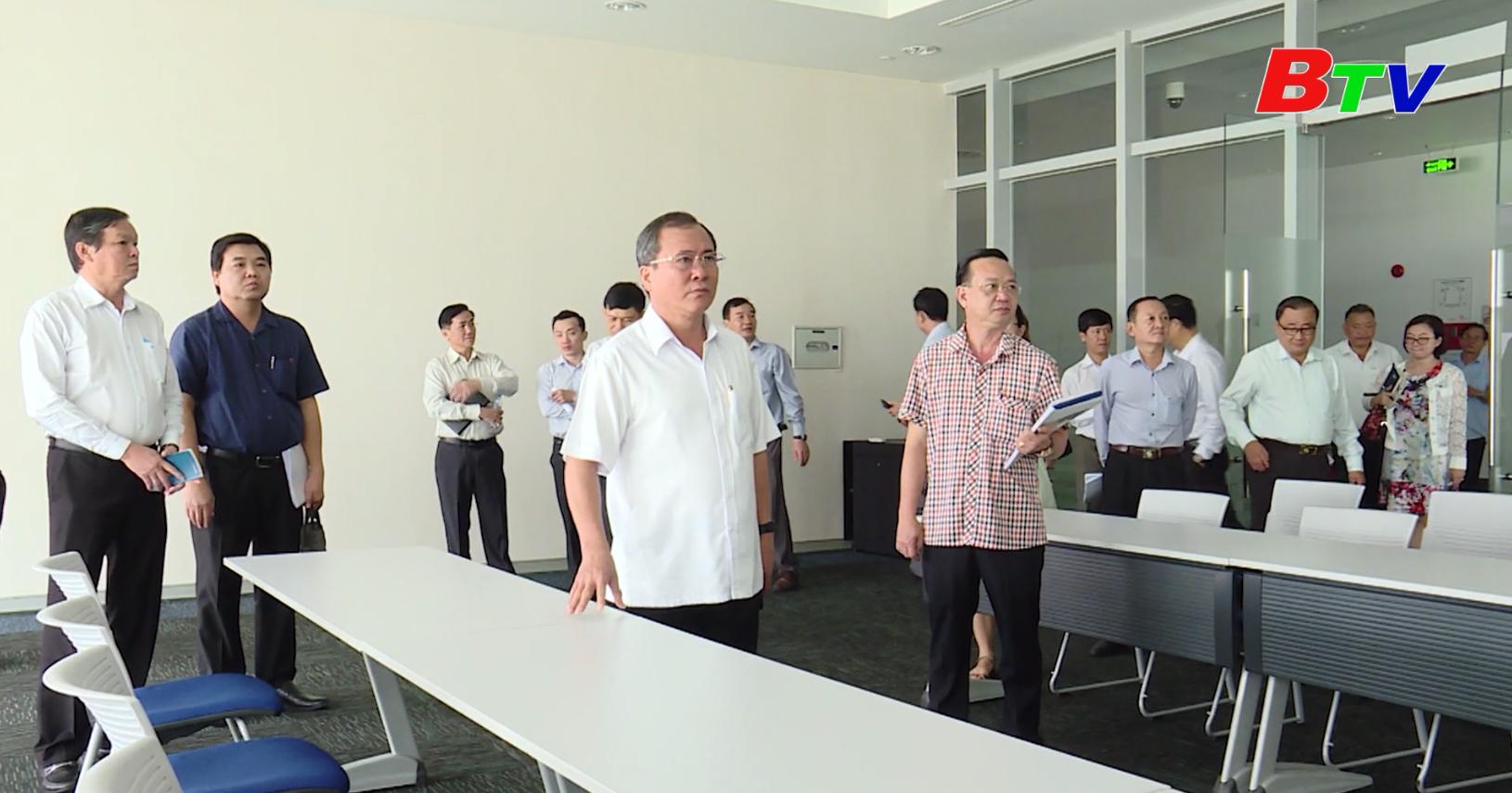Thường trực Tỉnh ủy Bình Dương kiểm tra công tác chuẩn bị Đại hội Đảng bộ tỉnh
