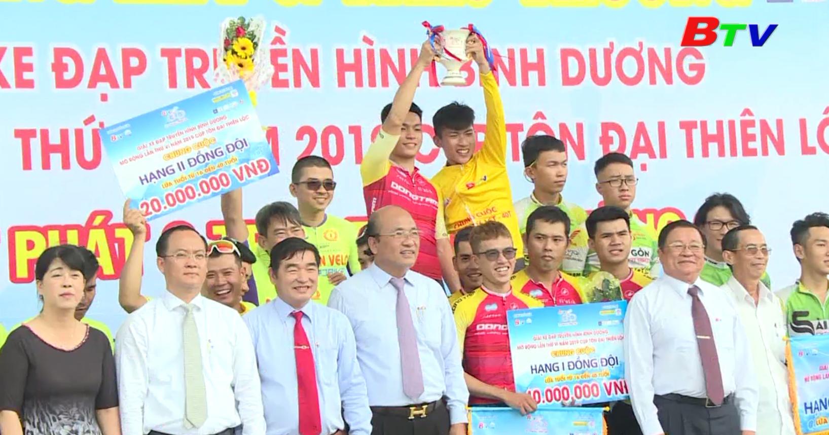 Giải xe đạp THBD mở rộng lần VI năm 2019 Cúp Tôn Đại Thiên Lộc - Khép lại mùa giải thành công