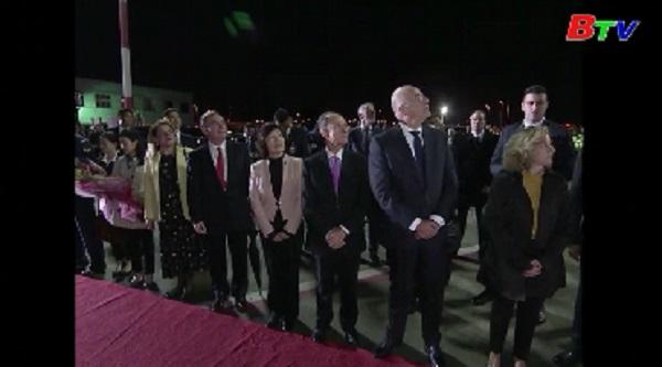 Chủ tịch Trung Quốc Tập Cận Bình thăm Hy Lạp