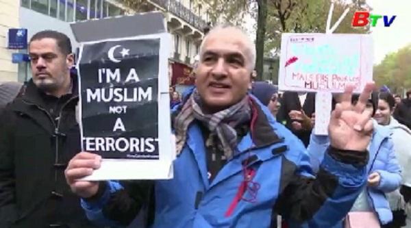 Pháp - Tuần hành tại Paris phản đối phân biệt đối xử với người Hồi giáo