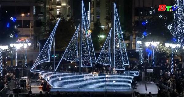 Hy Lạp khởi động mùa giáng sinh theo cách truyền thống