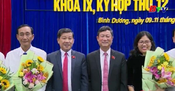 Hội đồng nhân dân tỉnh bầu bổ sung các chức danh HĐND và UBND tỉnh