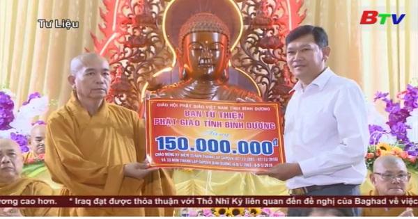 Phật giáo Bình Dương với phương châm Đạo pháp - Dân tộc - Chủ nghĩa xã hội