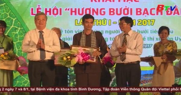Khai mạc lễ hội Hương bưởi Bạch Đằng lần I năm 2017