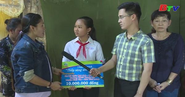Thắp sáng ước mơ xanh - Em Đỗ Châu Mai Linh, lớp 7A5, trường THCS Thành Lợi, huyện Bình Tân, Vĩnh Long
