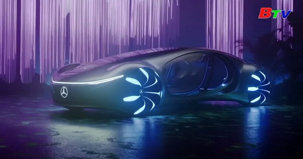 Hãng Mercedes - Benz tung mẫu xe lấy cảm hứng từ phim  Avatar
