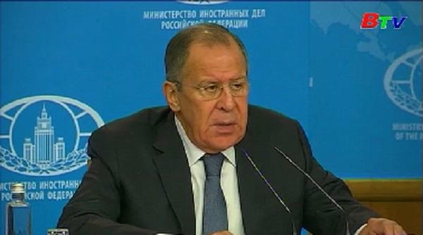 Ngành ngoại giao Nga góp phần bảo đảm vững chắc chủ quyền
