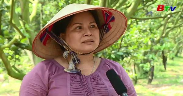 Người phụ nữ đam mê làm nông