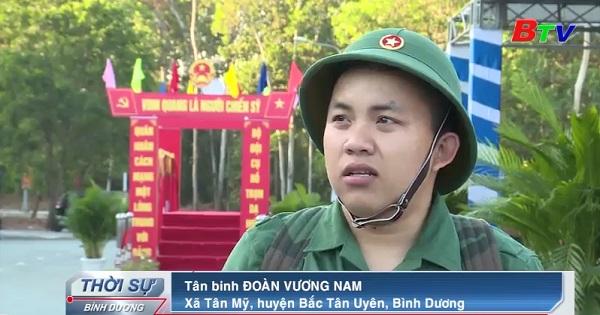 Huyện Bắc Tân Uyên hoàn thành tốt công tác giao quân năm 2020