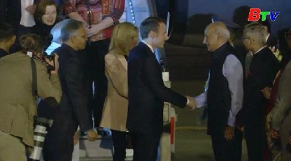 Tổng thống Pháp thăm Ấn Độ