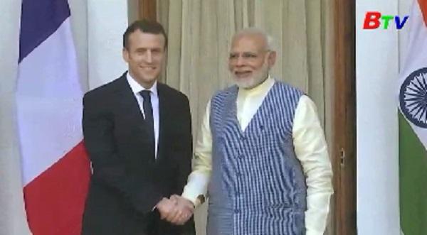 Ấn Độ và Pháp ký hàng loạt thỏa thuận hợp tác quan trọng