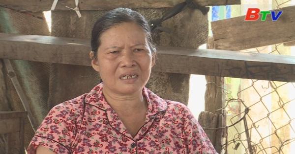 San Sẻ Yêu Thương - Hoàn cảnh cô Hoàng Thị Thủy ( Sinh năm 1963, số 295/15KP 4B, thị trấn Dầu Tiếng, huyện Dầu Tiếng, Bình Dương)