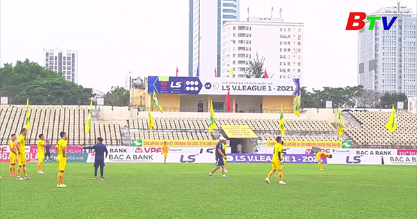 Vòng 9 V-League 2021 – Trước trận Sông Lam Nghệ An - Becamex Bình Dương