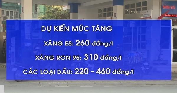 Giá xăng có thể tăng cao