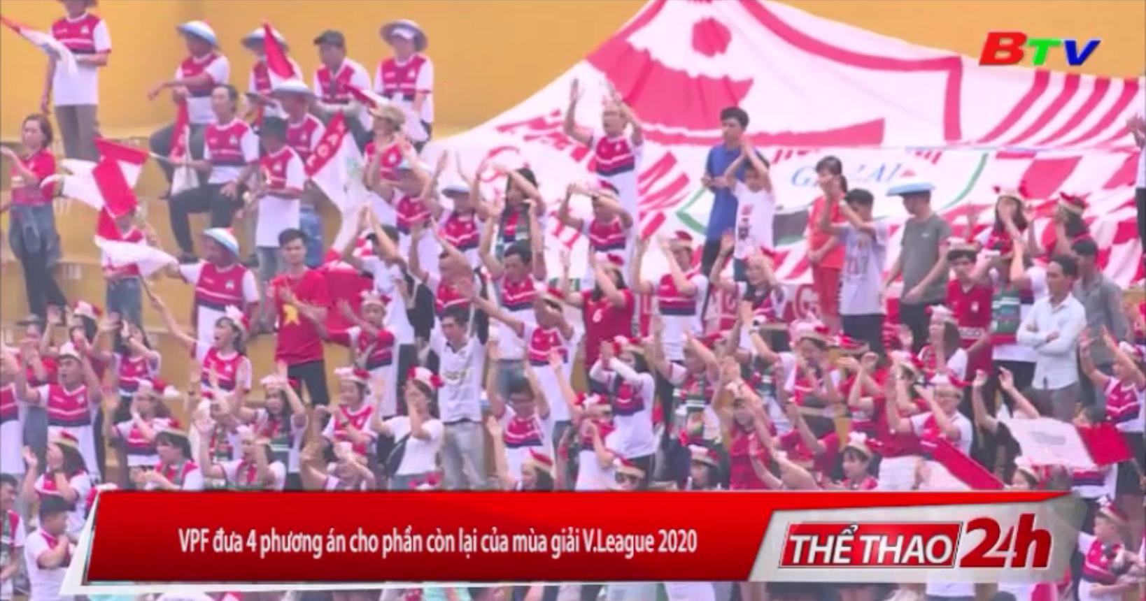 VPF đưa 4 phương án cho phần còn lại của mùa giải V-League 2020