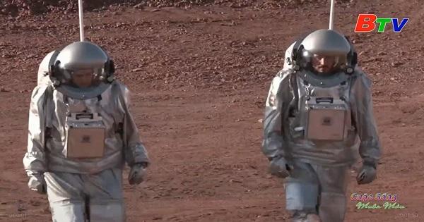 Chương trình mô phỏng sự sống trên Sao Hỏa trong miệng núi lửa ở Israel