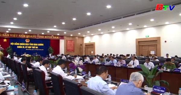 Kỳ họp thứ 3 HĐND tỉnh Bình Dương khóa IX