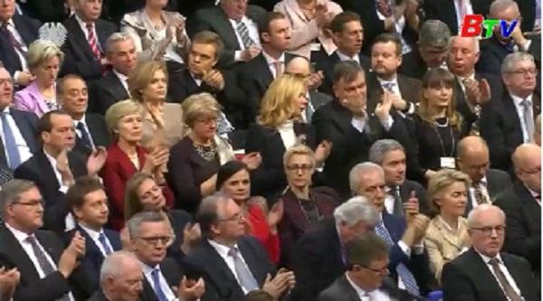 Đức chính thức có thủ tướng mới