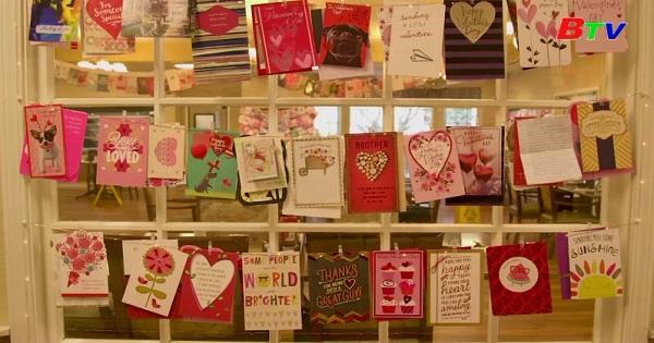 Valentine đặc biệt với 70.000 bức thư và bưu thiếp dành cho một cựu quân nhân Mỹ 104 tuổi