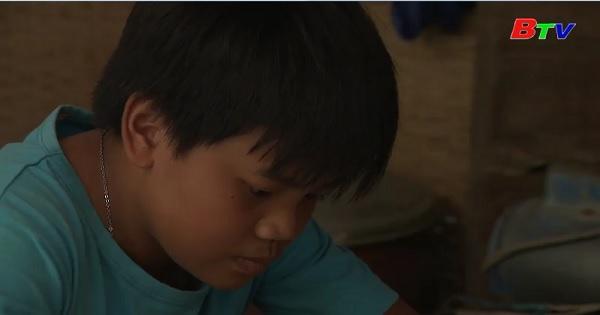 Thắp sáng ước mơ xanh - Em Lê Tấn Lộc, lớp 8A3, trường THCS Tiên Thuận,  xã Tiên Thuận, Bến Cầu, Tây Ninh