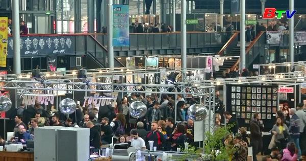 Khai mạc hội chợ Tattoo quốc tế tại Paris