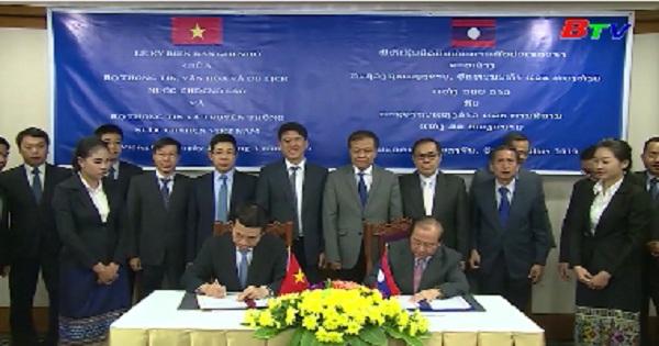 Việt Nam - Lào nâng hợp tác về thông tin, truyền thông lên tầm cao mới