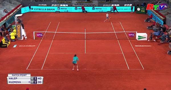 Kết quả vòng 3 nội dung đơn nam Giải quần vợt Madrid mở rộng 2019