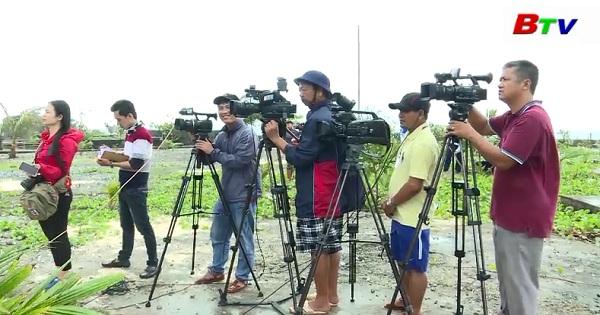 Nhà báo với văn hóa giao tiếp