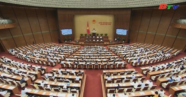 Quốc hội thông qua 2 dự thảo nghị quyết, 3 dự luật và thảo luận  Dự án luật Giáo dục Đại học