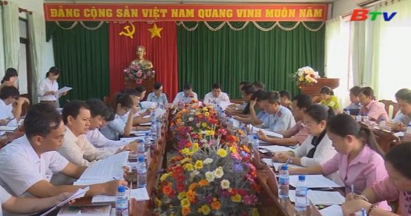 Huyện Dầu Tiếng đánh giá tình hình kinh tế xã hội, quốc phòng an ninh trogn 6 tháng đầu năm 2018