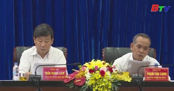 Bình Dương tổ chức Hội nghị triển khai quán triệt Chỉ thị 23-CT/TW của Ban Bí thư trung ương Đảng khóa XII